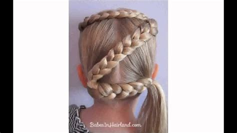 easy crazy hairstyles for girls youtube