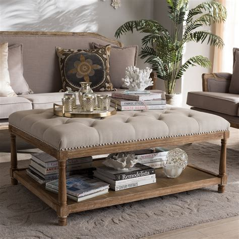Measure on the coffee table with measuring tape. Wholesale ottoman | Wholesale living room furniture | Wholesale Furniture