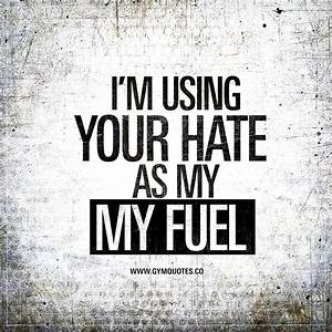 I'm using your hate as my fuel | THE BEST gym motivation ...
