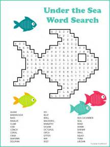 Halloween Themed Brain Teasers by Ocean Word Search