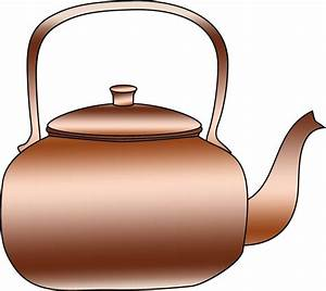 Copper Kettle Clipart Free Stock Photo