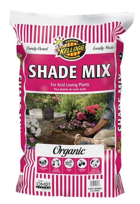 Kellogg Garden by Shade Mix For Acid Loving Plants Kellogg Garden Products