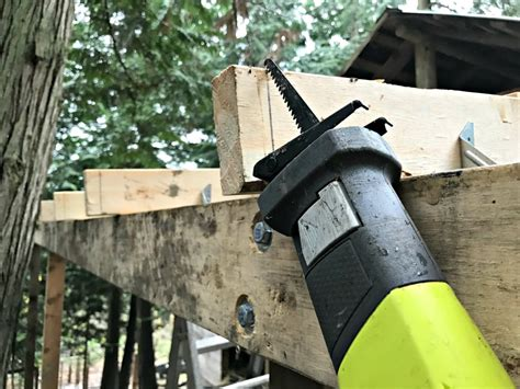 Battery Powered Tight Spaces With The Ryobi Sawzall