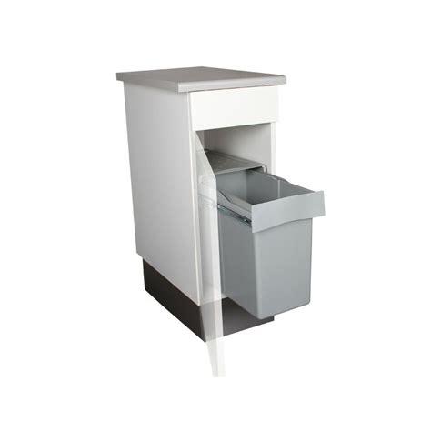 poubelle meuble cuisine poubelle de cuisine coulissante 1 bac 30 litres