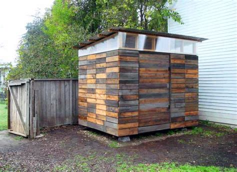 Using Reclaimed Wood For Your Garden Shed
