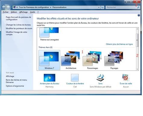 organiser bureau windows 7 module 2 le système d 39 exploitation windows 7 2 3 l