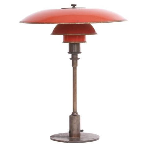 poul henningsen ph 3 5 2 desk l with copper shades
