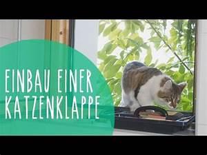 Katzenklappe In Fenster : katzenklappe in isolierglas fenster einbauen youtube ~ Orissabook.com Haus und Dekorationen