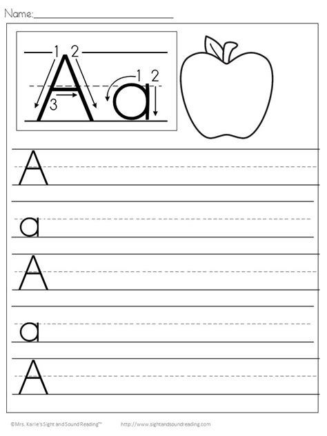 handwriting worksheets  kids file
