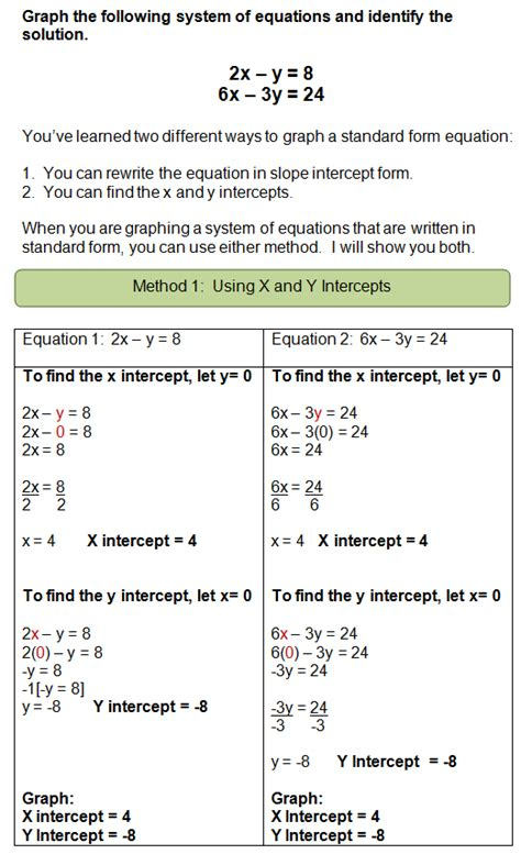 graphing systems  equations