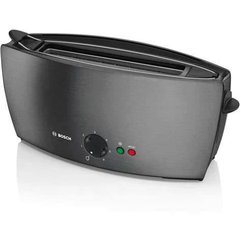 Bosch Toaster by Bosch Tat6805gb City Collection Slot 2 Slice Toaster