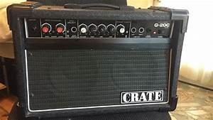 Crate G-20c Guitar Amp Review