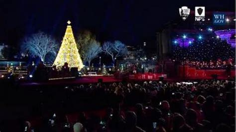 christmas lighting ceremony hotel gm speech national tree lighting ceremony 2015 at the ellipse at the white house