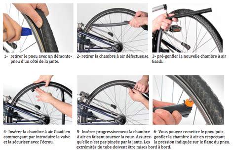changer chambre à air vélo course innovation la chambre à air ouverte gaadi
