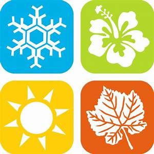 Clipart - Seasons Icons