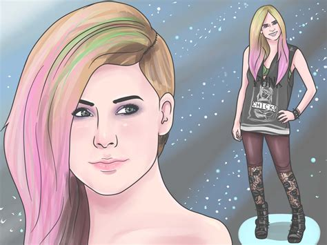dress pop punk  steps  pictures wikihow