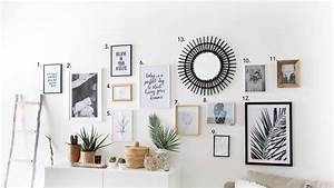 Acheter Cadre Photo : tuto d co r alisez un mur de cadres sans percer june ~ Teatrodelosmanantiales.com Idées de Décoration