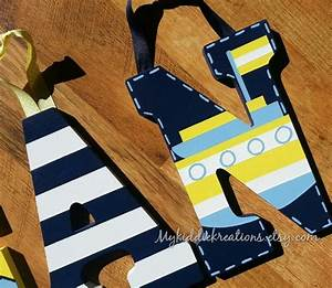 hand painted letters oceanside nautical theme With nautical themed letters