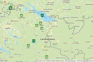 Ostschweiz Karte, Routenplaner