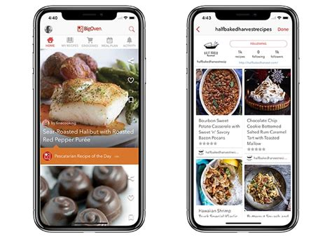 recipe apps  iphone  android