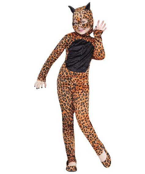 jaguar costume cheetah kids halloween costume girls costumes