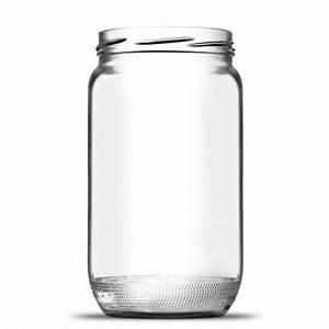 Bocaux En Verre Pas Cher : gros pot vide en verre de forme cylindrique 85 cl ~ Melissatoandfro.com Idées de Décoration