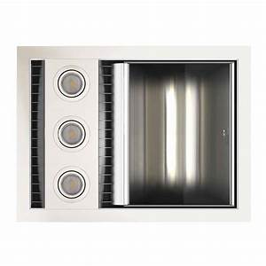 Bathroom Heat Light Fan Unit