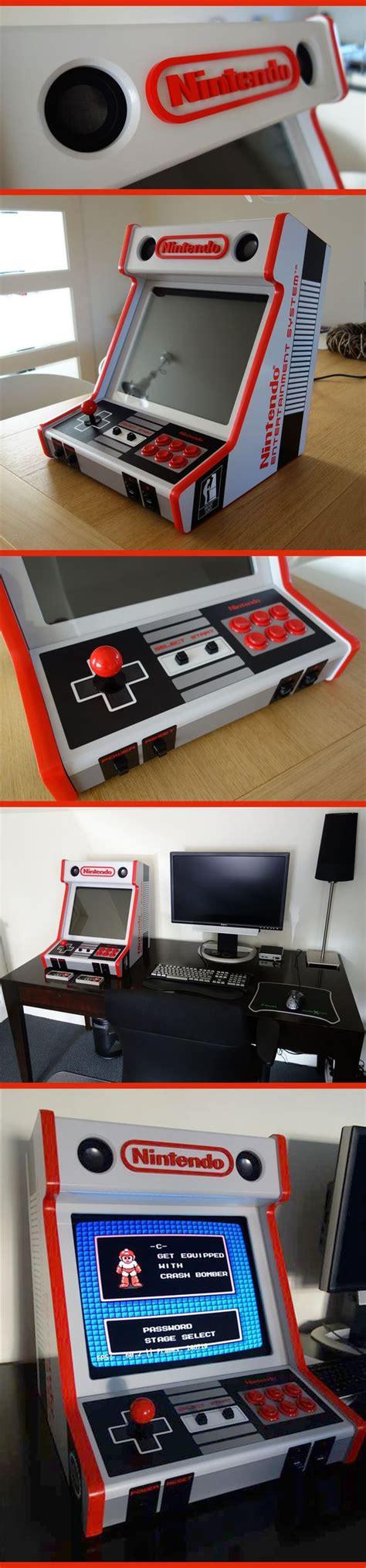 custom arcade cabinet custom made nes bartop arcade cabinet nostalgic