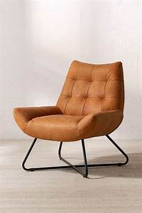 About A Chair : modern but comfy leather lounger chair urban outfitters ~ A.2002-acura-tl-radio.info Haus und Dekorationen