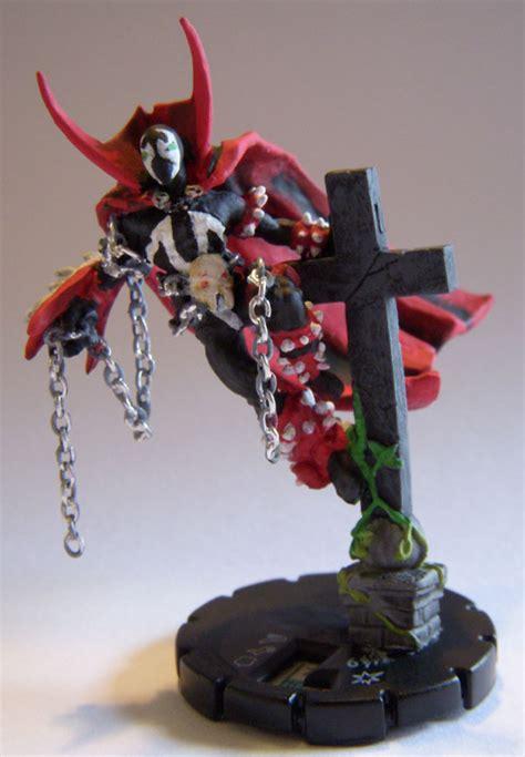 spawn heroclix  christian lee  deviantart
