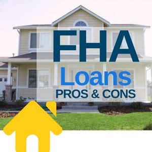 pros  cons  fha loans picking   mortgage