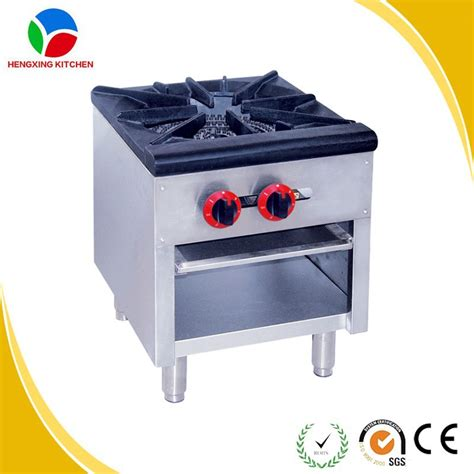 kitchen gas stove table commercial hotel kitchen equipment 4 burners table top gas