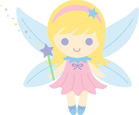 fairy  blonde hair  clip art