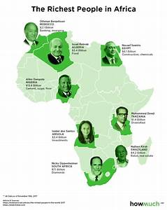 All Mapped, Meet The Richest People In Each Continent Of ...
