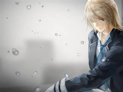 Sad Boy Anime Wallpaper - sad anime wallpaper wallpapersafari