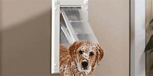 Doggie door free doggie door for sliding glass door with for Best weatherproof dog door