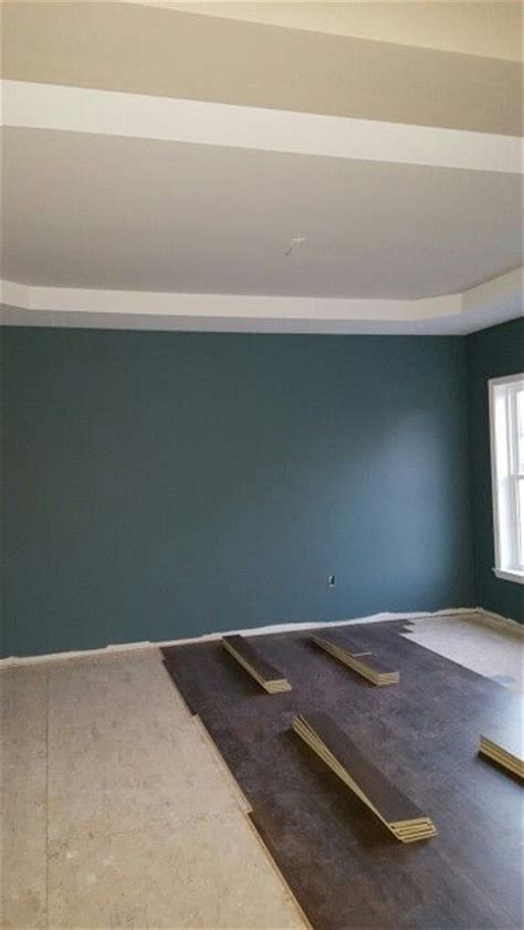 sherwin williams riverway  dining room house paint