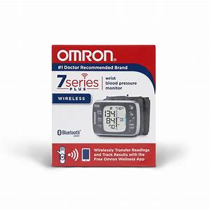 Omron 7 Series Wireless Remote Wrist Blood Pressure
