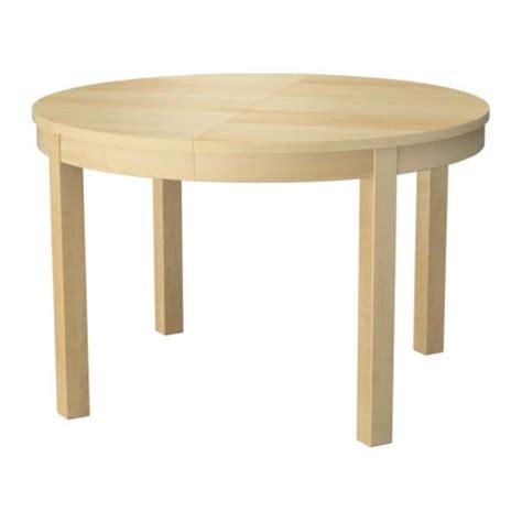 ikea round table with leaf bjursta extendable table ikea