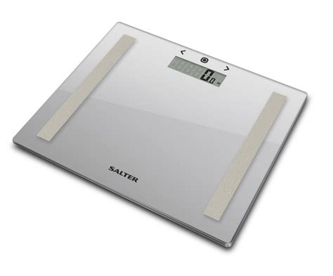 salter compact glass analyser scale silver