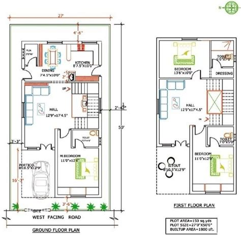 floor plans for 20x60 house 20 60 house plan numberedtype