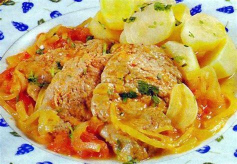 recette cuisine familiale tasca da elvira escalopes de porc aux oignons