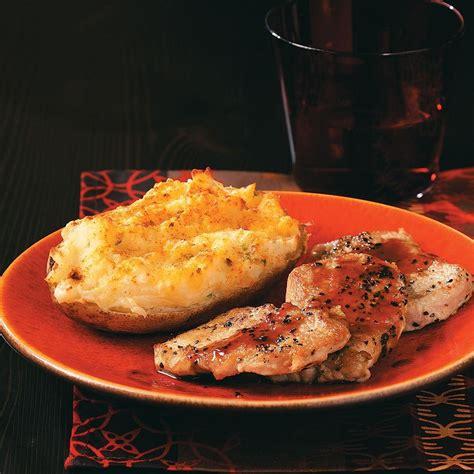herbed  baked potatoes recipe taste  home