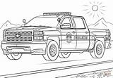 Police Coloring Truck Pages sketch template