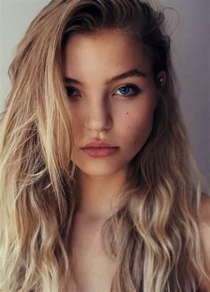 Blonde Eyes Hair Brown Blond Portrait Human