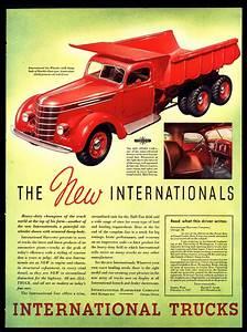 "ORIGINAL 1937 INTERNATIONAL TRUCKS ""SIX"