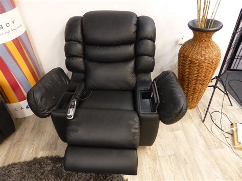 la z boy cool leather recliner built in fridge