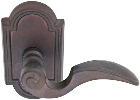 bronze door handles emtek napoli bronze lever door handle shop door levers