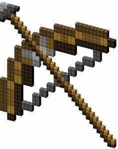 Minecraft Bow and Arrow Cursor