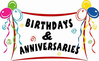 Anniversaries Anniversary Birthday Clipart Birthdays Wishes Happy